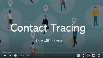 You can be incarcerated and fined for not following contact tracing rules